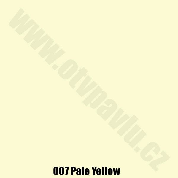 Lee Filters  007 Pale Yellow Role