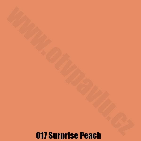 Lee Filters  017 Surprice Peach Role