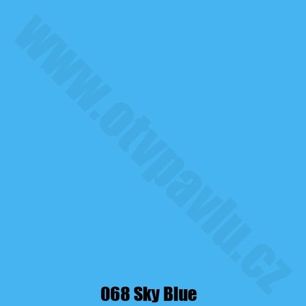 Lee Filters  068 Sky Blue Role