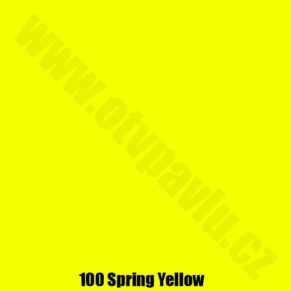Lee Filters  100 Spring Yellow Role