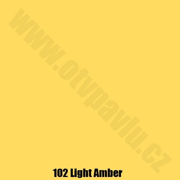 Lee Filters  102 Light Amber Role