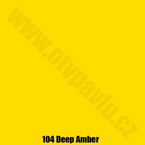Lee Filters  104 Deep Amber Role