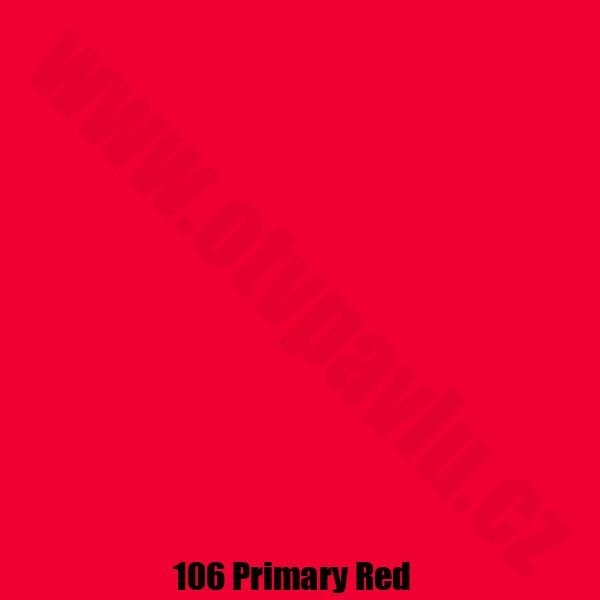 Lee Filters  106 Primary Red Role
