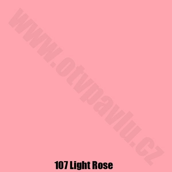 Lee Filters  107 Light Rose Role