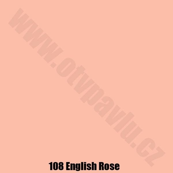 Lee Filters  108 English Rose Role