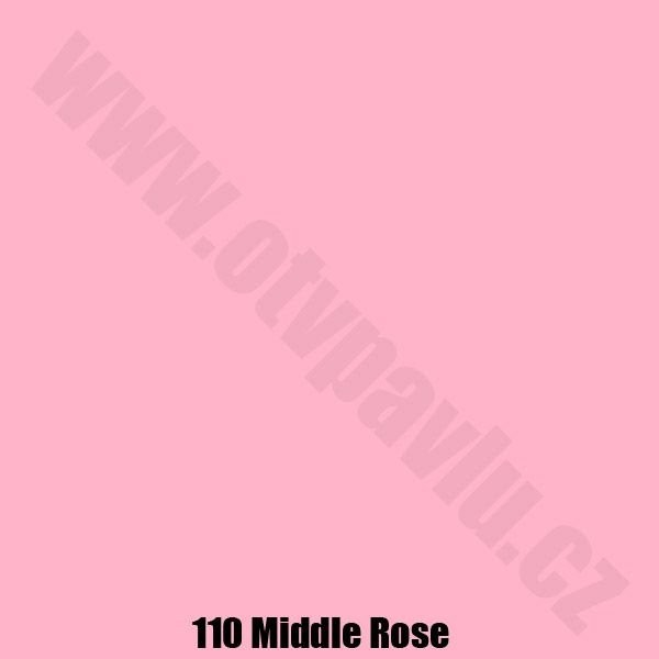 Lee Filters  110 Middle Rose Role
