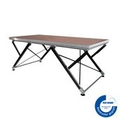 2M ERGOcom Series - Stage Platform Outdoor 2 x 1 m with grid height adjustment