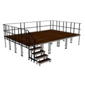 2M ERGOtrend Series - Stage Platform Set Indoor 8 x 6 m Product Number: SPETRENDINDOOR8X6