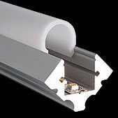 PROLED - MBN  ALUMINIUM PROFILE S-LINE EDGE 2m