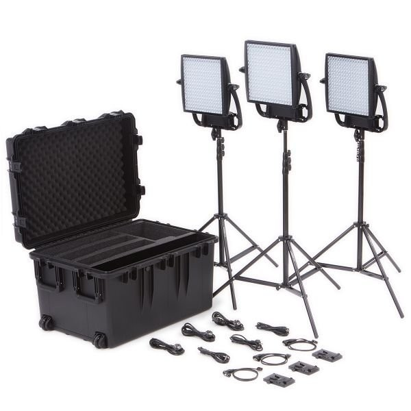 LITEPANELS  Astra 1X1 Traveler Trio V-Mount Kit