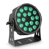Cameo FLAT PRO 18 - 18 x 10 W FLAT LED RGBWA PAR light in black housing