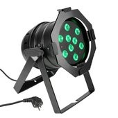 Cameo PAR 56 CAN - 9 x 3 W TRI Colour LED PAR Can RGB in black housing