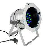 Cameo PAR 64 CAN - 36 x 3 W LED PAR Can RGB in polished housing