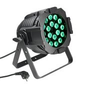 Cameo Studio PAR 64 CAN - 18 x 8W QUAD Colour LED PAR Can RGBW in black housing