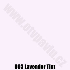 Lee Filters  003 Lavender Tint  Role
