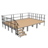 2M ERGOtrend Series - Stage Platform Set Indoor 6 x 4 m