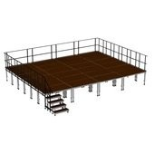 2M ERGOtrend Series - Stage Platform Set Outdoor 8 x 6 m