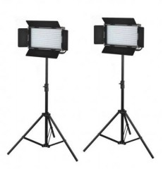 C-TV  2X576 LED Light Dimmable Bi-color 5600K 3200K Digital Display