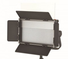 C-TV  576 LED Light Dimmable Daylight 5600K Digital Display V mount