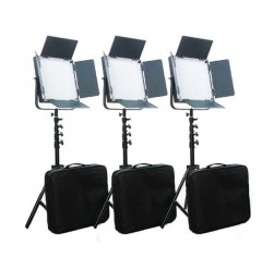 C-TV  C-TV High CRI Bi-color 3 X 1024 LED Video Studio Lighting