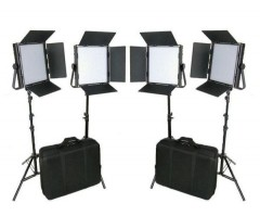 C-TV  C-TV High CRI Bi-color 4 X 1024 LED Video Lights TV Lighting