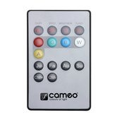 Cameo FLAT PAR CAN REMOTE - Infrared remote control for FLAT PAR CAN projector