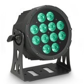 Cameo FLAT PRO 12 - 12 x 10 W FLAT LED RGBWA PAR light in black housing