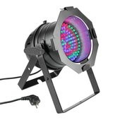 Cameo PAR 56 CAN - 108 x 10 mm LED PAR Can RGB in black housing