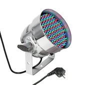 Cameo PAR 56 CAN - 151 x5 mm LED PAR Can RGB in polished housing
