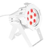 Cameo Studio Mini PAR - 7 x 3 W TRI Colour LED PAR Can RGB in white housing