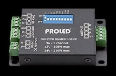 PROLED - MBN  DMX PWM DIMMER RGB CA 3-CHANNEL