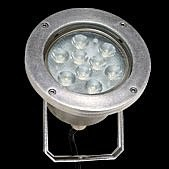 PROLED - MBN  IP68 SPOT 9x 3 Watt MONO 25°