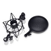 LD Systems DSM 400 - Microphone Shock Mount with Pop Killer
