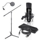 LD Systems PODCAST 1 - Podcast Microphone Set 3-piece