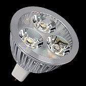 PROLED - MBN  MR16 - 3x 1,5 WATT	WHITE