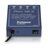 Palmer Pro PAN 48 - Phantom Power Supply 2 Channel