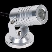 PROLED - MBN  SPOT LIGHT IP65 1x 3 Watt MONO 30°	W-WHITE